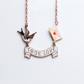 Collier Pergamena True Love
