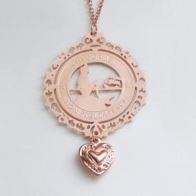 Ciondolo La Sirenetta Oro Rosa